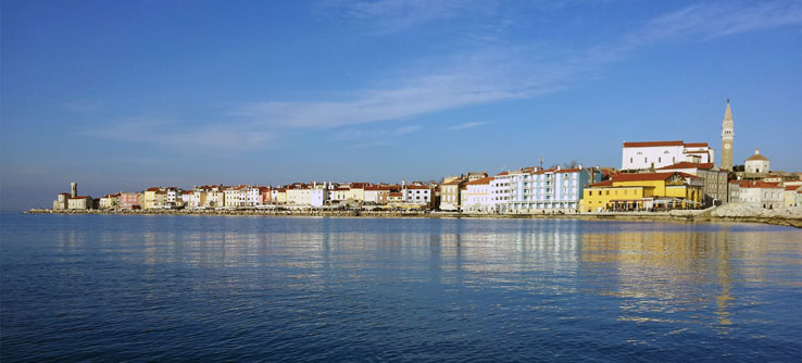 Slovenia's beautiful Adriatic coast.